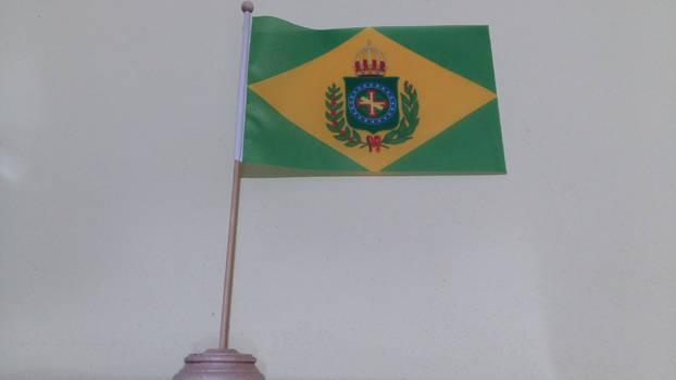Empire of Brazil (1870-1889) table flag