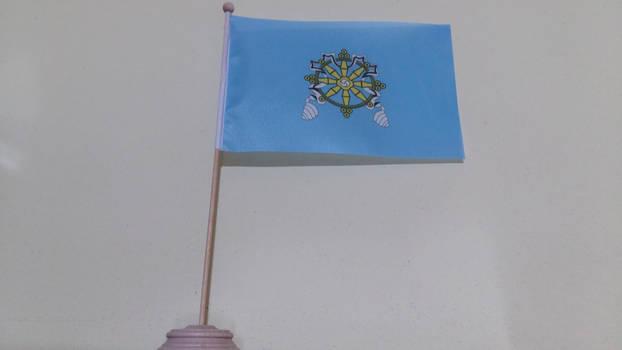 Uryankhay Krai (1914-1921) table flag