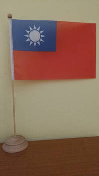 Republic of China (1928-1949) table flag