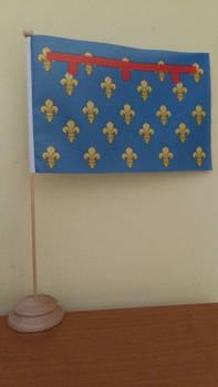Angevin Naples (1266-1442) table flag