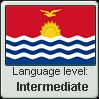 GILBERTESE language level INTERMEDIATE