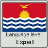 GILBERTESE language level EXPERT
