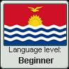 GILBERTESE language level BEGINNER