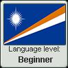 MARSHALLESE language level BEGINNER