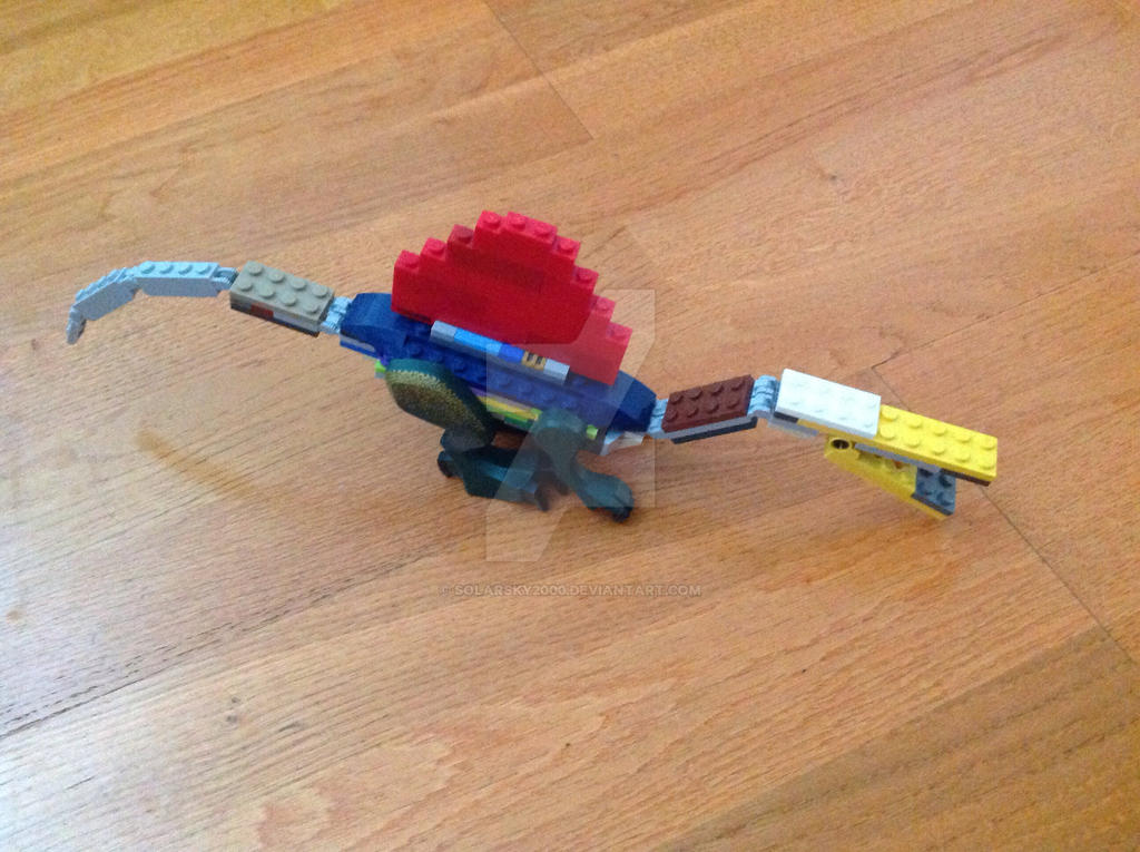 Lego spinosaurus by solarsky2000 on deviantart - Lego spinosaurus ...