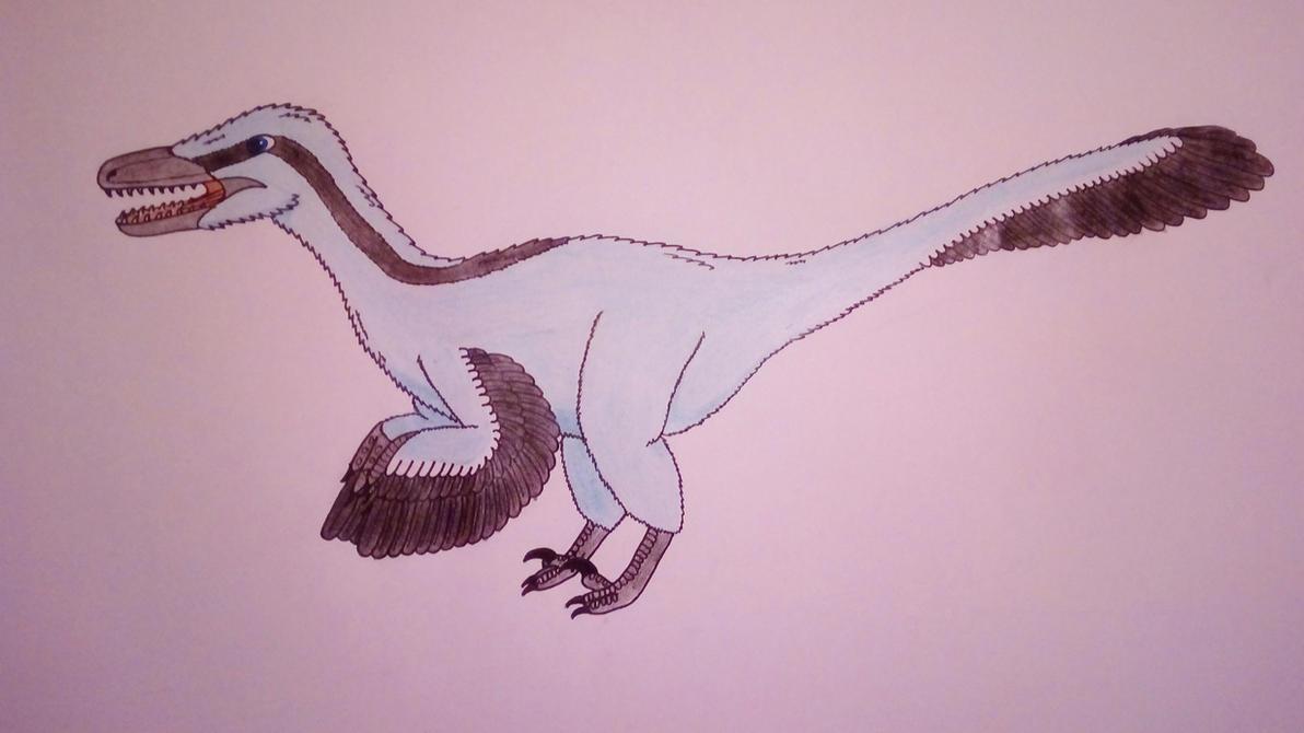 Blue Velociraptor by Pootis97
