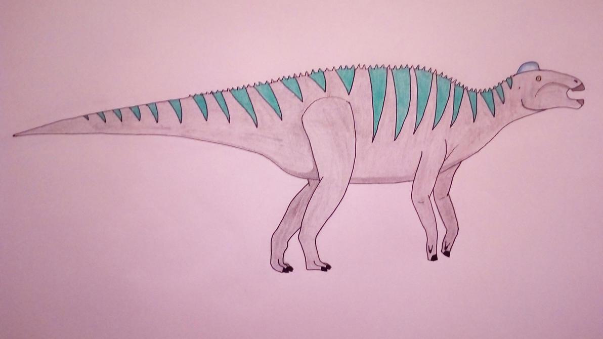 Edmontosaurus by Pootis97