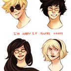 I'm happy if you're happy by CherryTheKitty