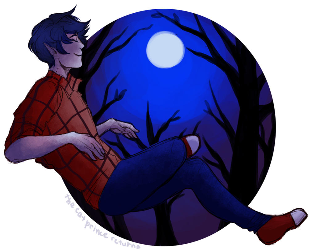 Marshall Lee by CherryTheKitty
