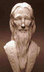 Dumbledore Bust - detail by AlfredParedes