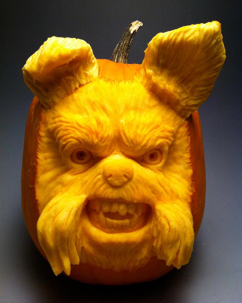 Dog Pumpkin by AlfredParedes on DeviantArt