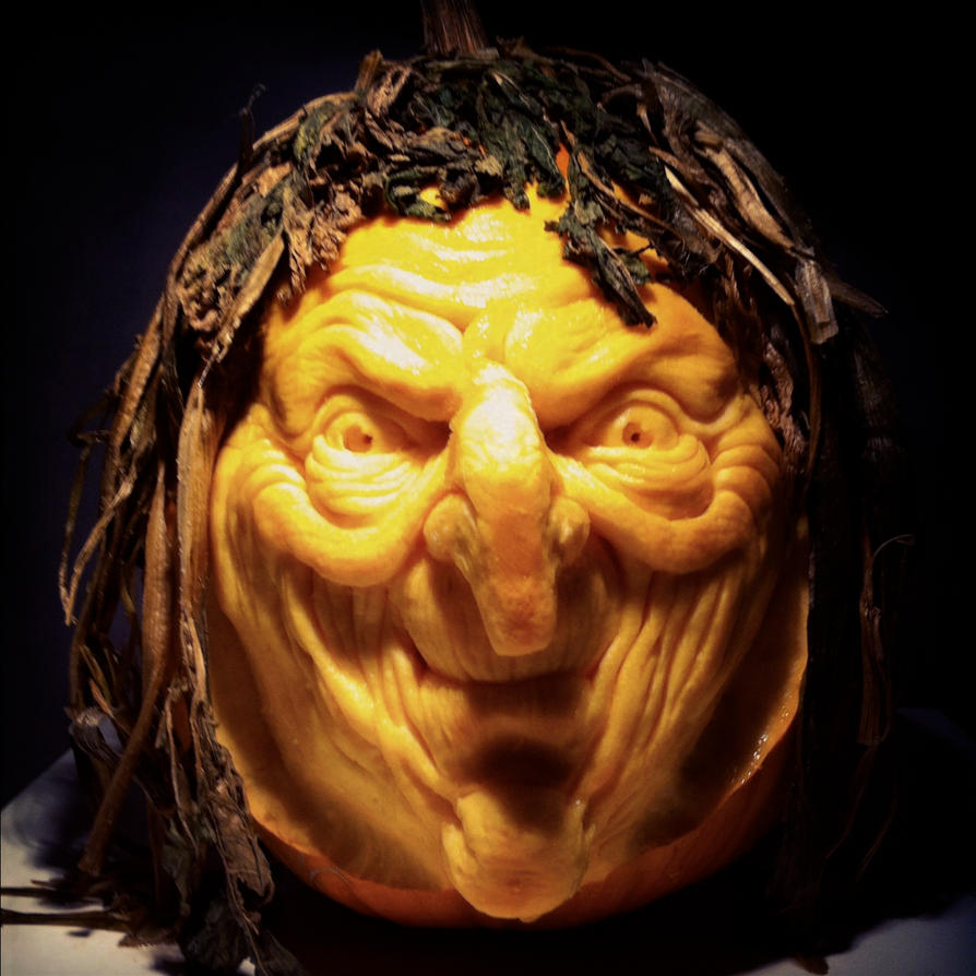 Witch Pumpkin by AlfredParedes