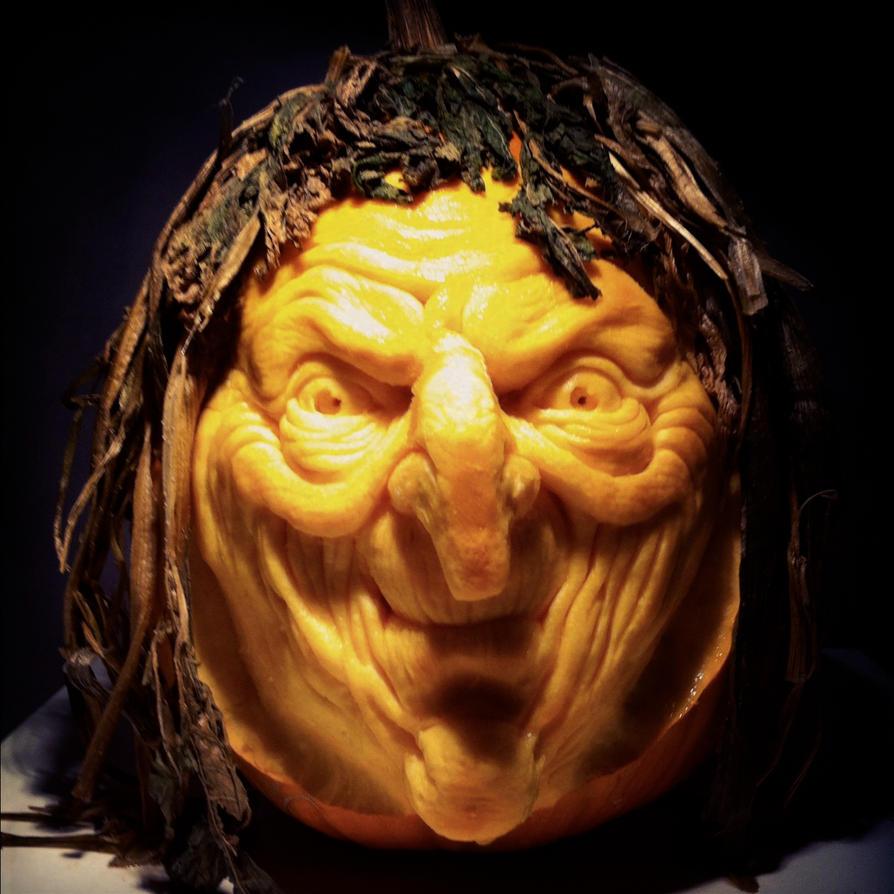 Witch Pumpkin By Alfredparedes On Deviantart