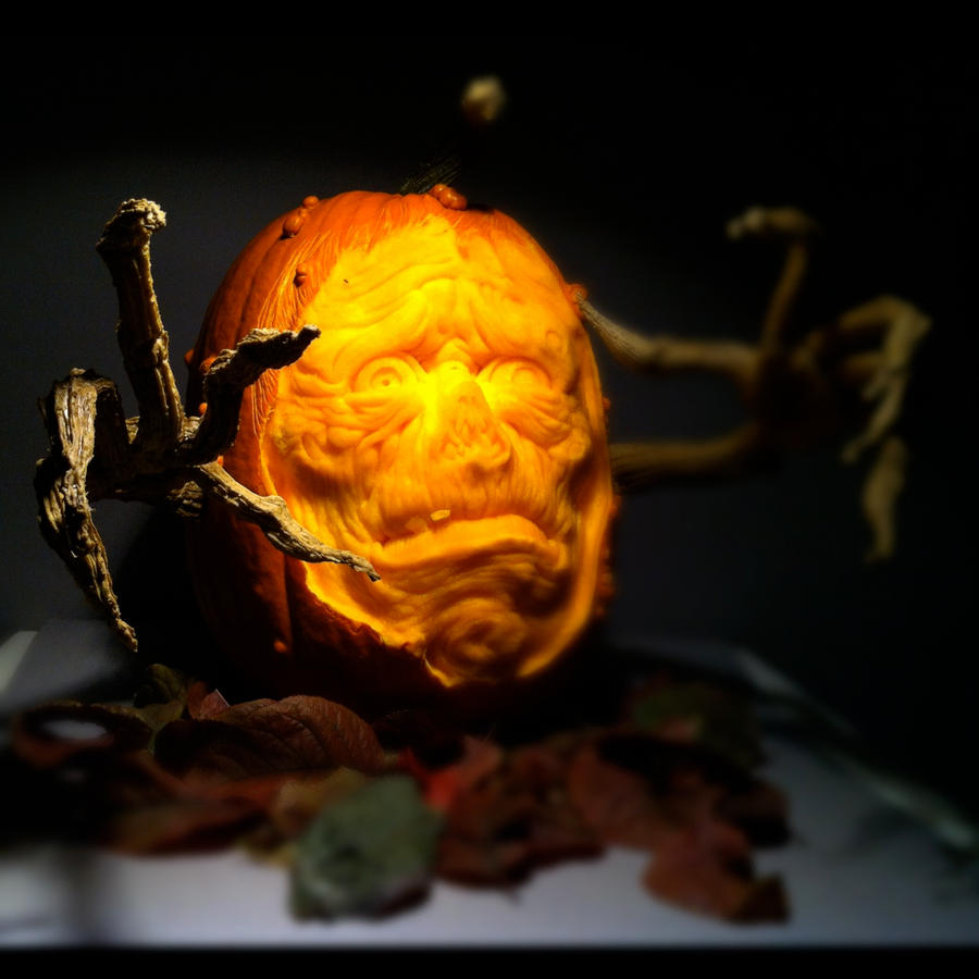 Unclean!!!! Pumpkin by AlfredParedes