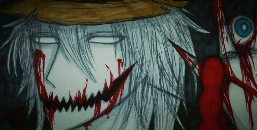 Creepypasta(AT): Hex the scarecrow by Smokertongas-arts