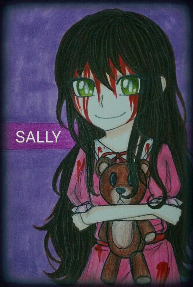 Creepypasta: Sally Williams by Smokertongas-arts