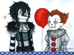 Laughing Jack and Pennywise!