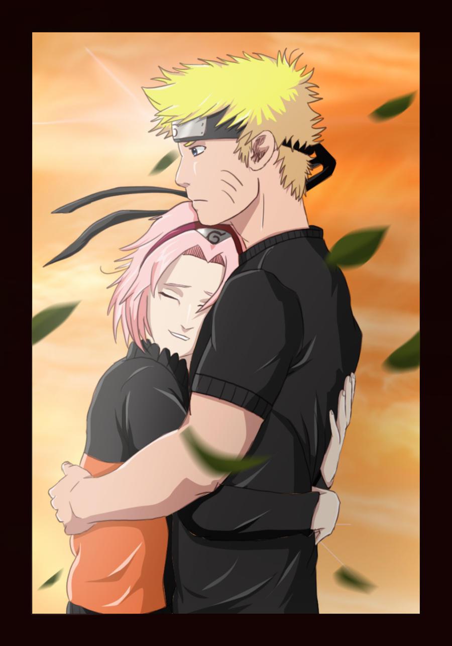 Narusaku Bed Narusaku: warm in your arms by