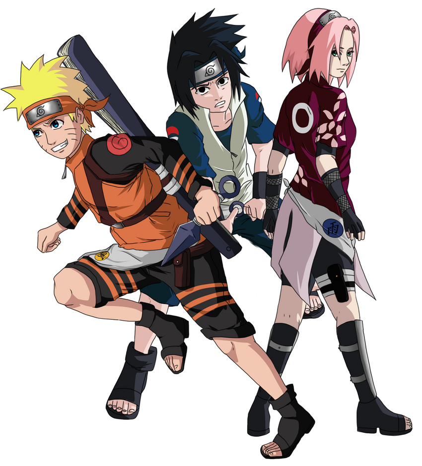 Popular Wallpaper Naruto Group - naruto___team_seven_tellemicus_by_celious-d5a5mk2  HD_3216100.png