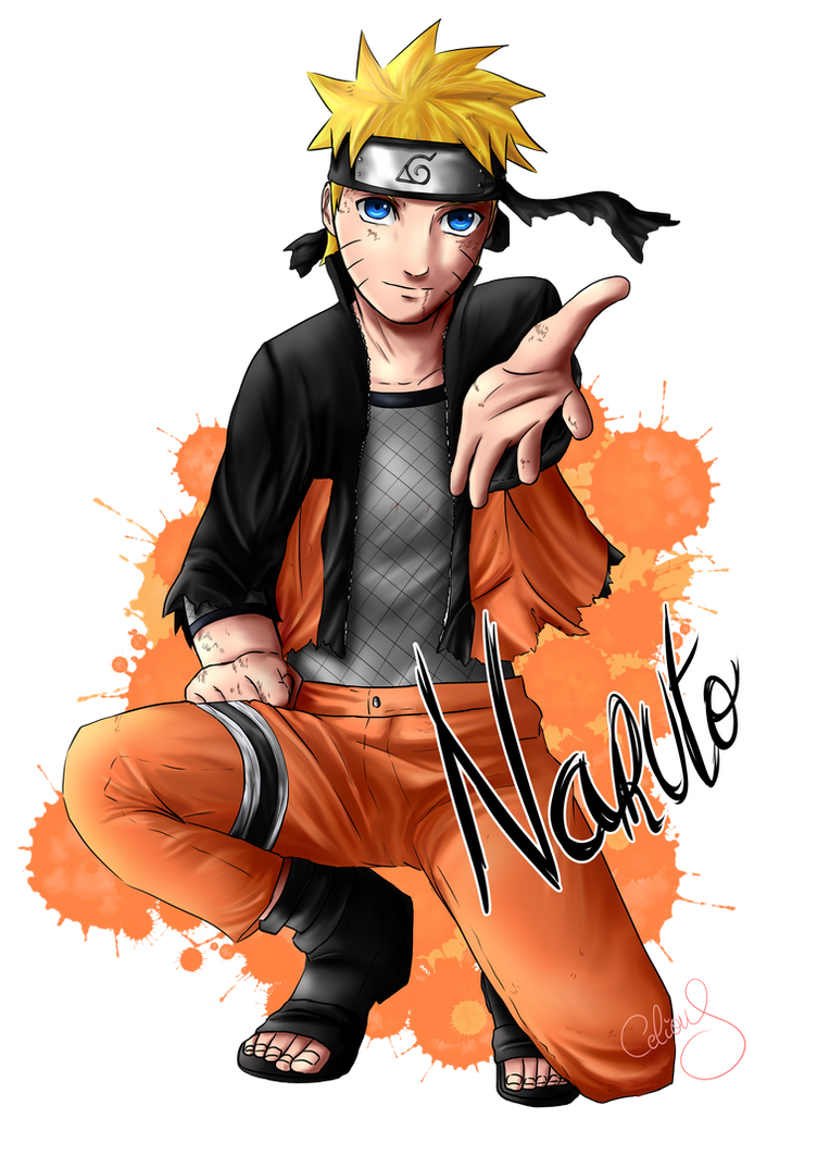 Naruto: Take my hand by Celious