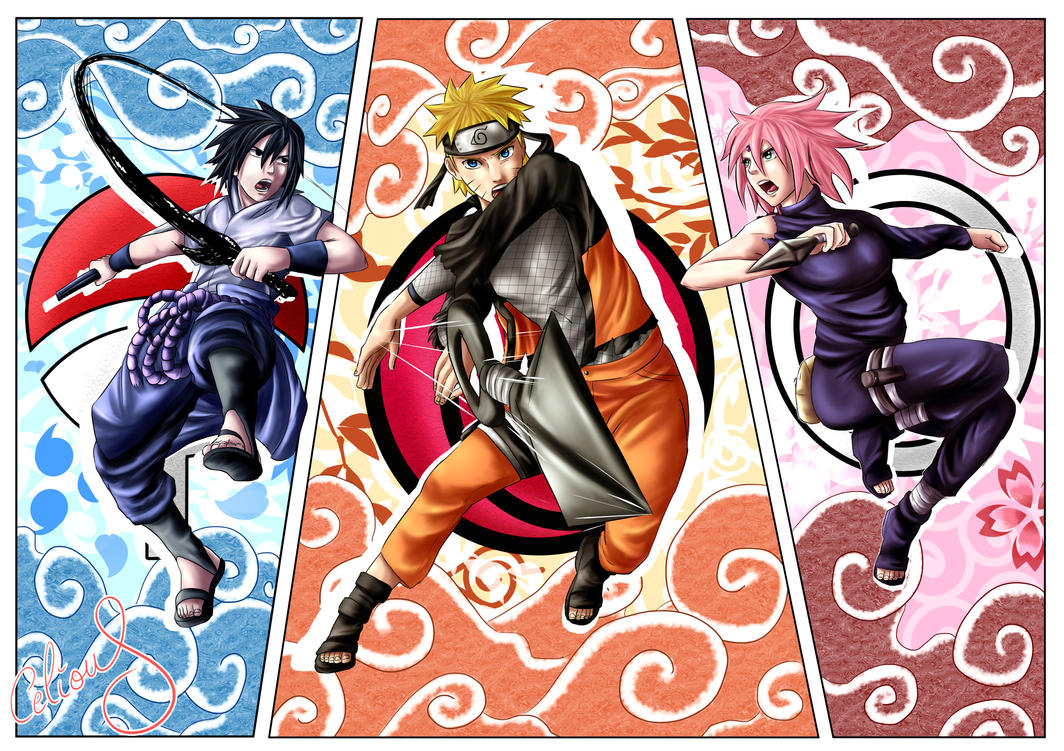 Team 7 : Fight! by Celious