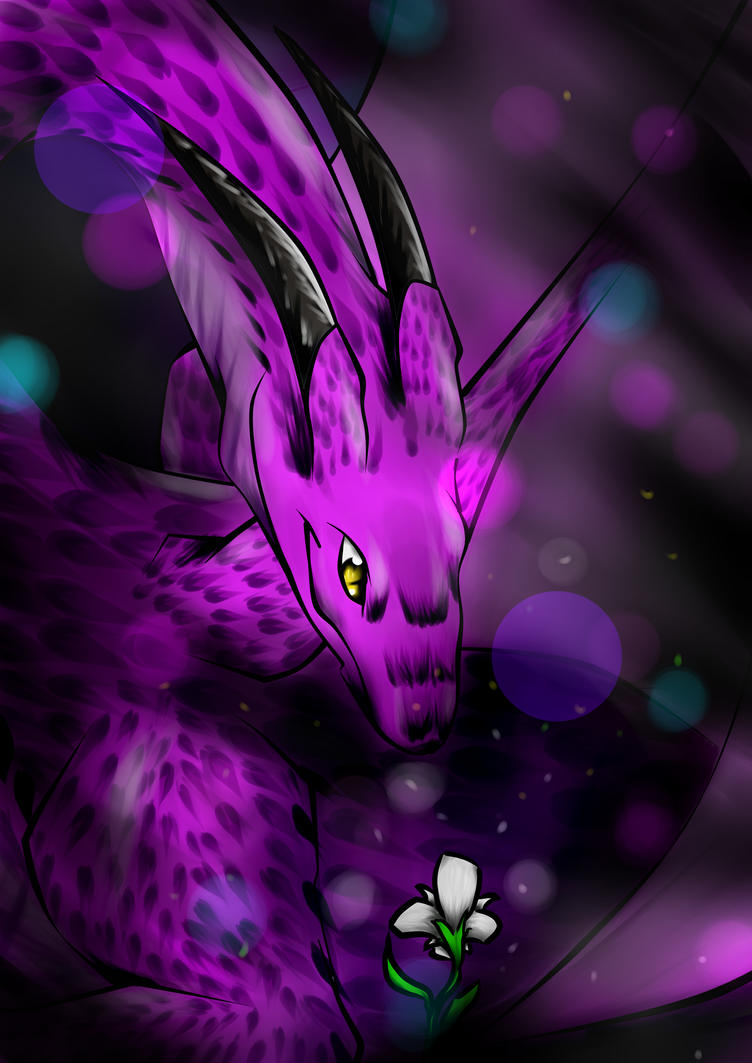 Happy Birthday Artistwolf! by AnotherRaven