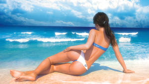 Lorena Kissed by Sun back view