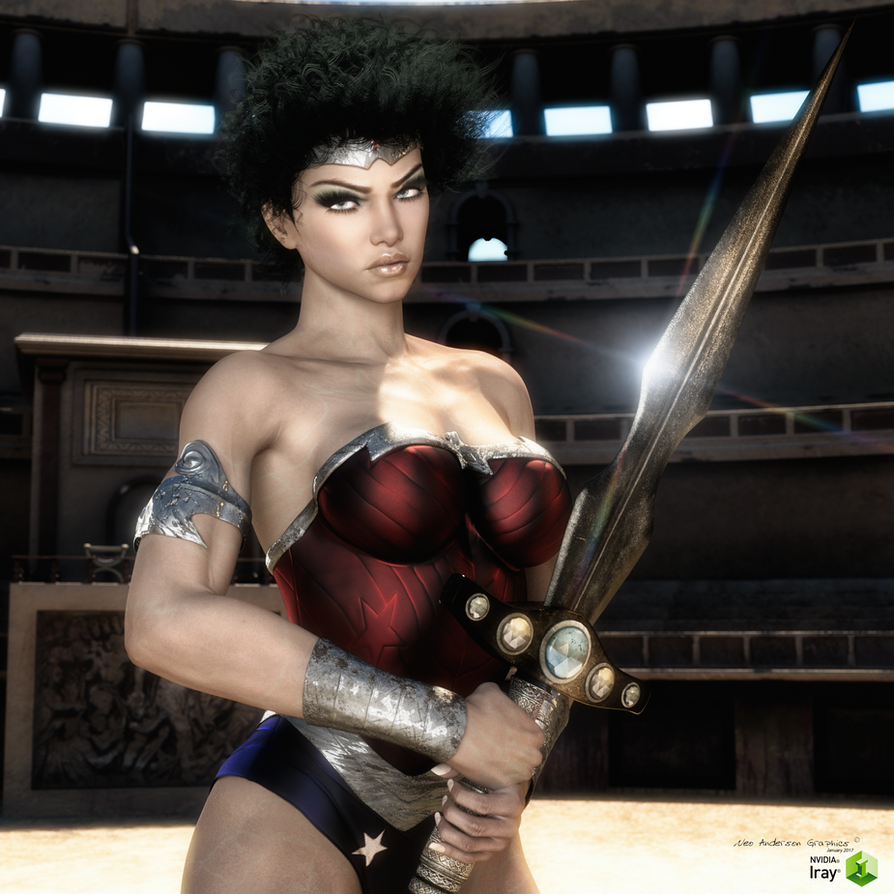 Wonder Woman Iray Version 2017 by neoanderson79
