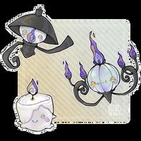 110320. chandelure by Plipkat