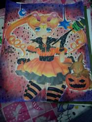 my halloween fan art.. by nikkyhusada