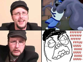 Nostalgia Critic Rage by Willowguy