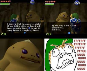 Zelda Rage by Willowguy