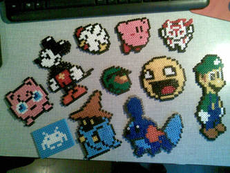 Perler Sprite Beads by Willowguy