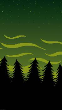 -F2U- Green Woods Iphone Wallpaper