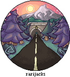 {REDRAW} Road towards mountains