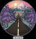 {REDRAW} Road towards mountains by RariJacks