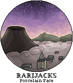 {REDRAW} Volcanic city by RariJacks