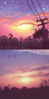 {REDRAW} Sunset Painting #2