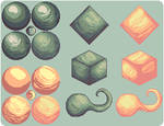 {HTP} Shading with limited colours