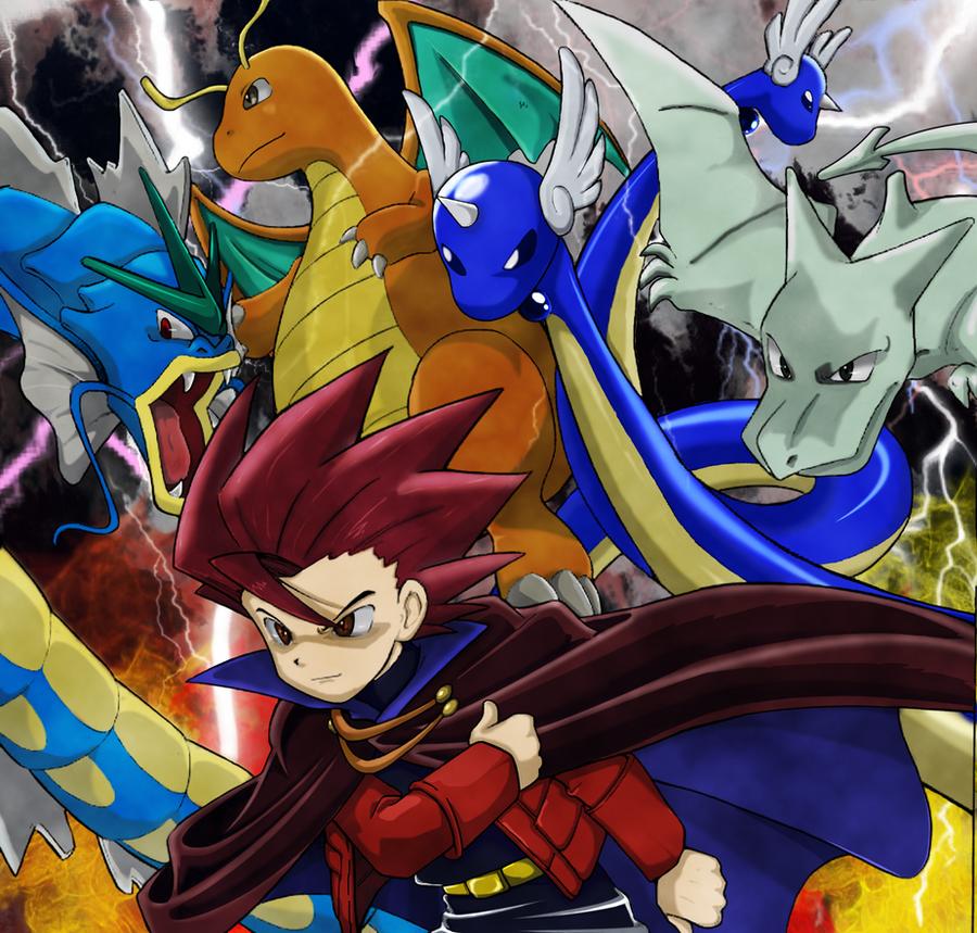Pokemon Adventures  Lance by Djinnjo on DeviantArt