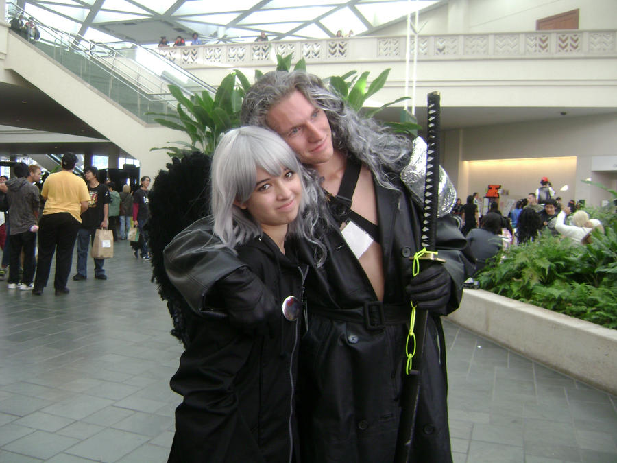 Riku Hugs Sephiroth by Betwixt779