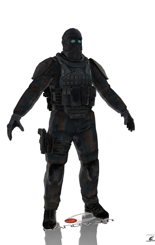 Ghost Recon Future Soldier Kozak Espectro/Phantom by Rarefacer on ...