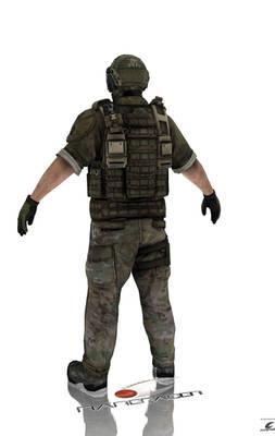 Ghost Recon Future Soldier Skull/Ramirez