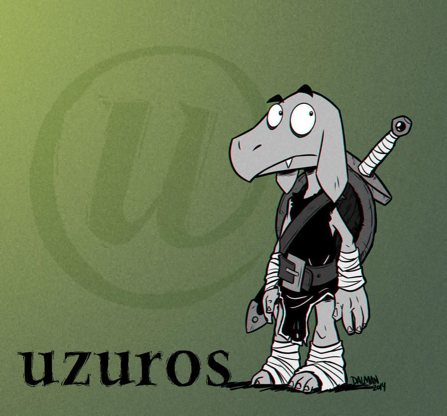Uzuros  the Kobold by kennydalman