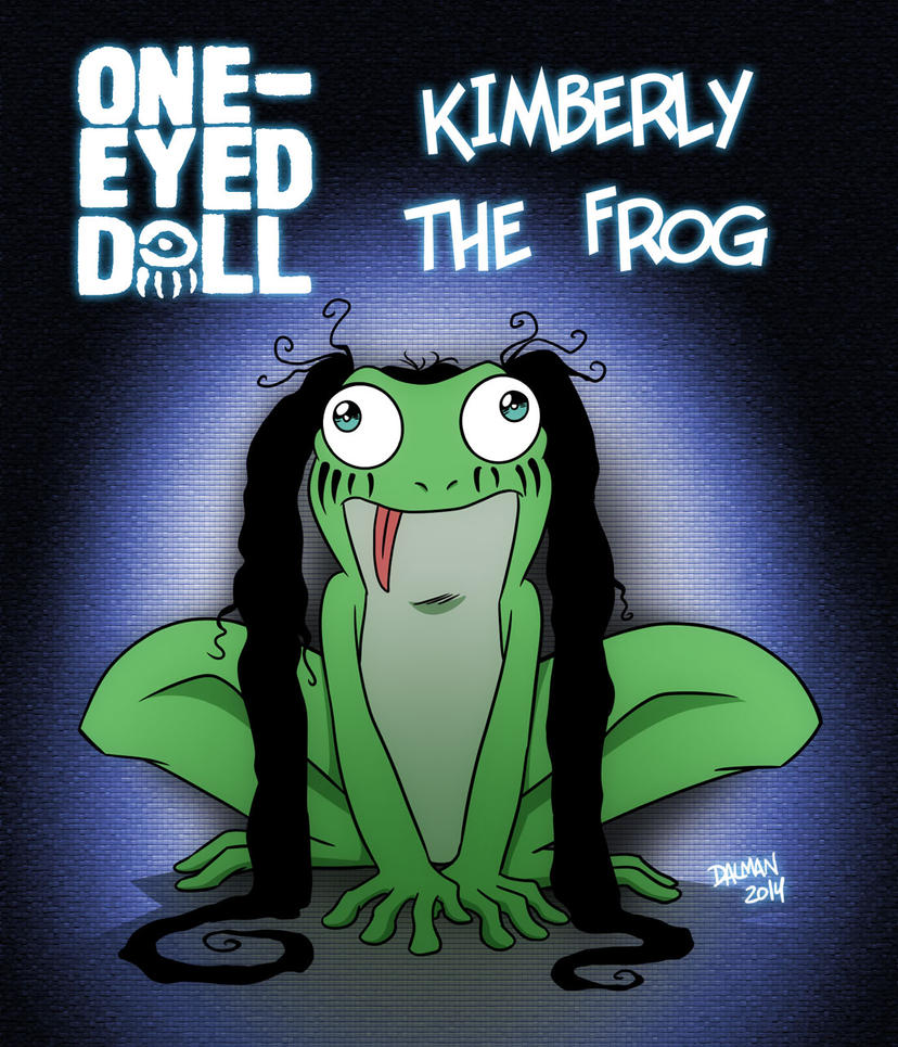 Kimberly the Frog by kennydalman