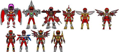 Power Rangers Battlizers by Stuart1001