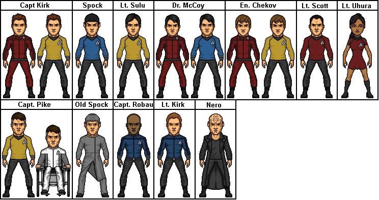 Star Trek 2009 By Stuart1001