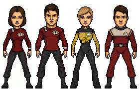 Crew Of The USS Enterprise-C (prime) by Stuart1001