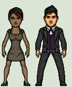 Fish Mooney and Oswald Cobblepot by Stuart1001