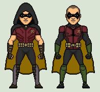 Robin (Arkhamverse) by Stuart1001
